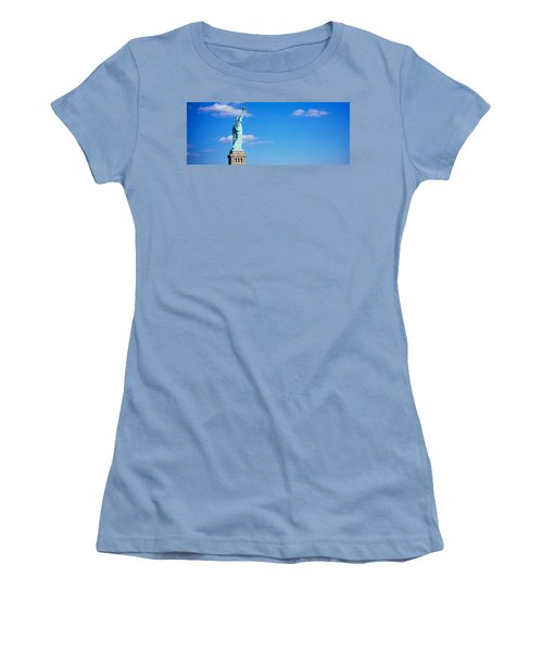 Low Angle View Of A Statue, Statue Women's T-Shirt (Athletic Fit)