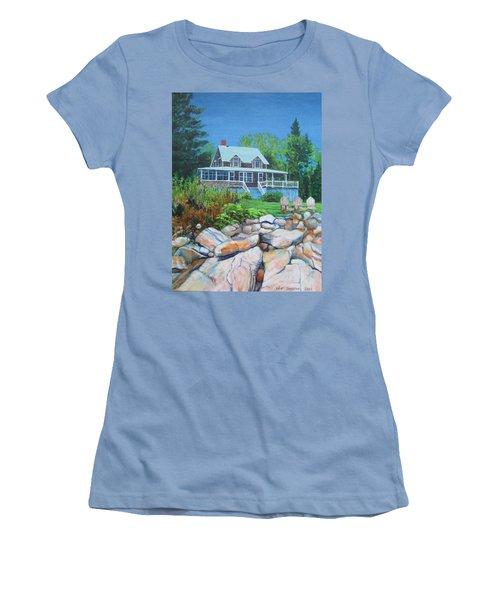 Maine Cottage Women's T-Shirt (Athletic Fit)