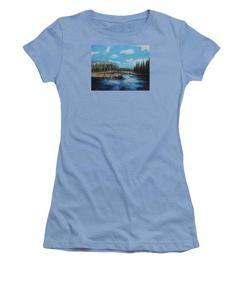 Marshland 1 Women's T-Shirt (Junior Cut) by Jeanne Fischer
