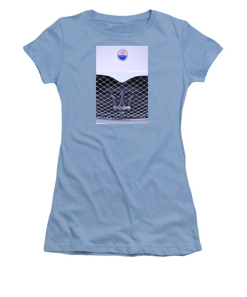 Maserati Emblems Women's T-Shirt (Junior Cut)