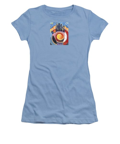 May You Always Find Your Way Women's T-Shirt (Junior Cut) by Helena Tiainen