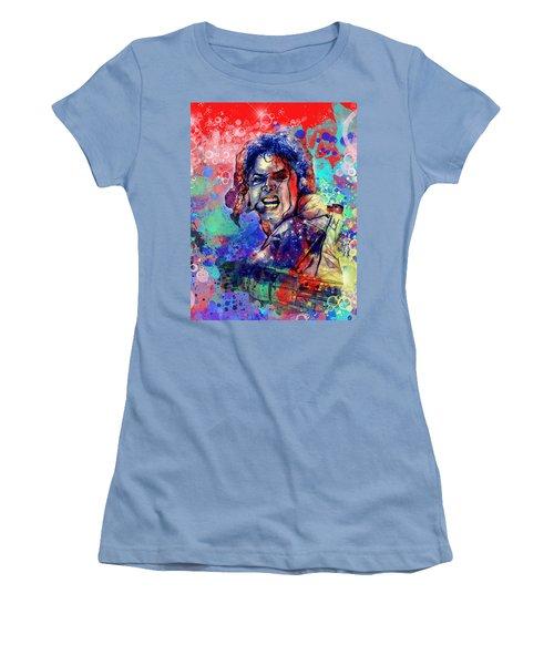Michael Jackson 8 Women's T-Shirt (Athletic Fit)