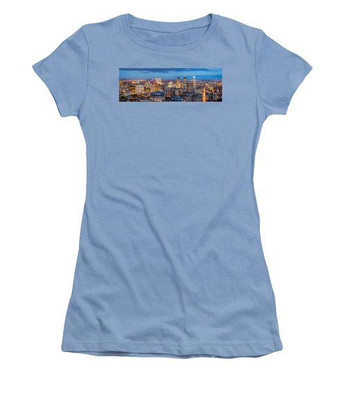 Montreal Panorama Women's T-Shirt (Junior Cut) by Mihai Andritoiu