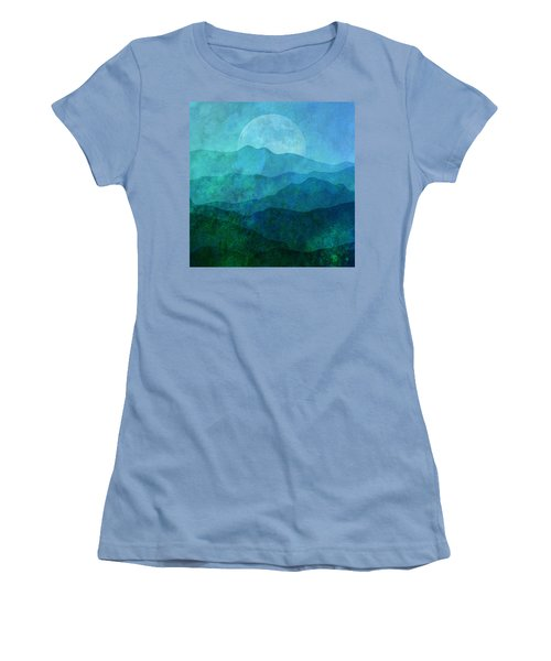 Moonlight Hills Women's T-Shirt (Athletic Fit)