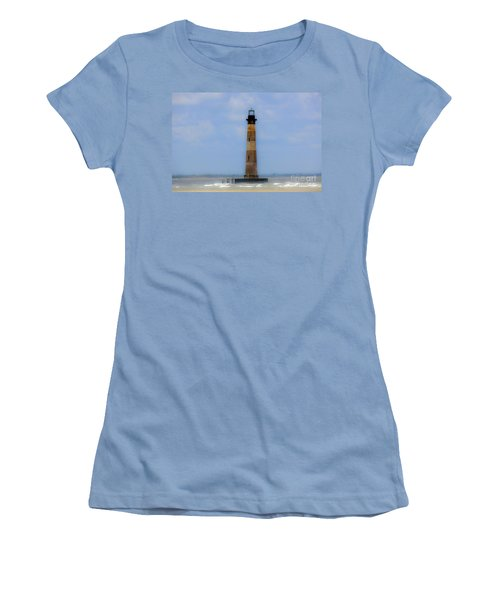 Women's T-Shirt (Junior Cut) featuring the photograph Sand Sea And Whimsey by Dale Powell