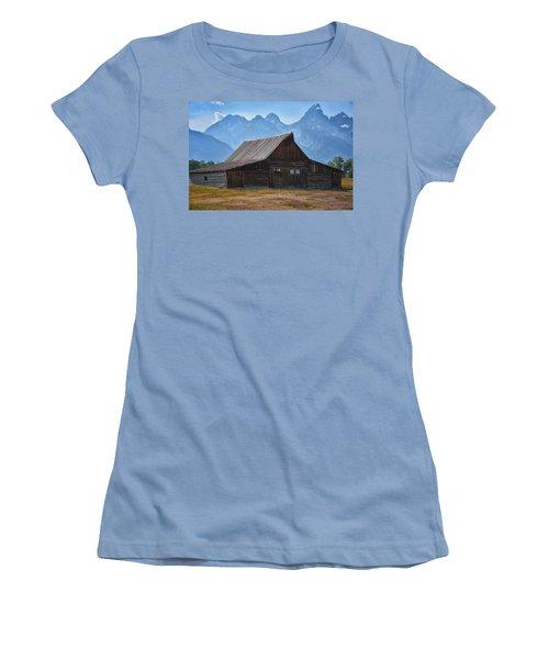 Moulton Barn Women's T-Shirt (Athletic Fit)