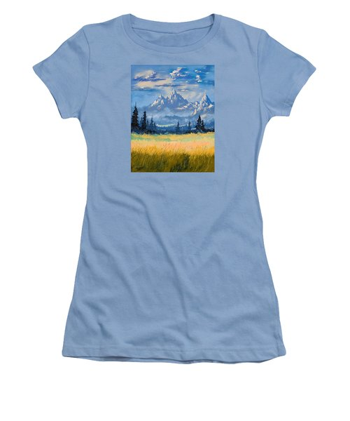 Mountain Valley Women's T-Shirt (Athletic Fit)