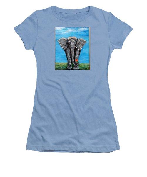 My Big Friend Women's T-Shirt (Athletic Fit)