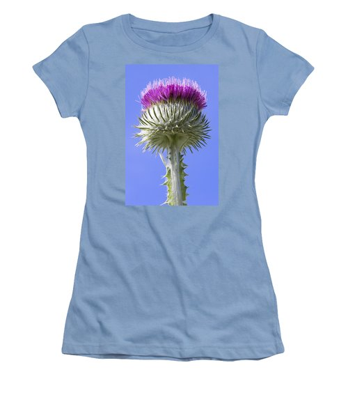National Flower Of Scotland Women's T-Shirt (Athletic Fit)