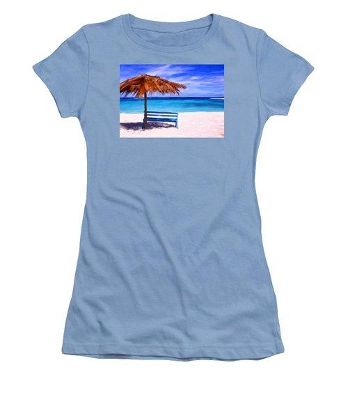 No Coronas Women's T-Shirt (Junior Cut) by Michael Pickett