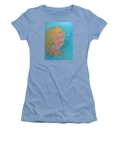 Ocean Breeze Women's T-Shirt (Junior Cut) by Terri Einer