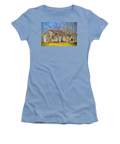 Old House Women's T-Shirt (Junior Cut) by Savannah Gibbs