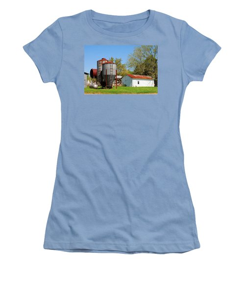Old Texas Farm Women's T-Shirt (Athletic Fit)
