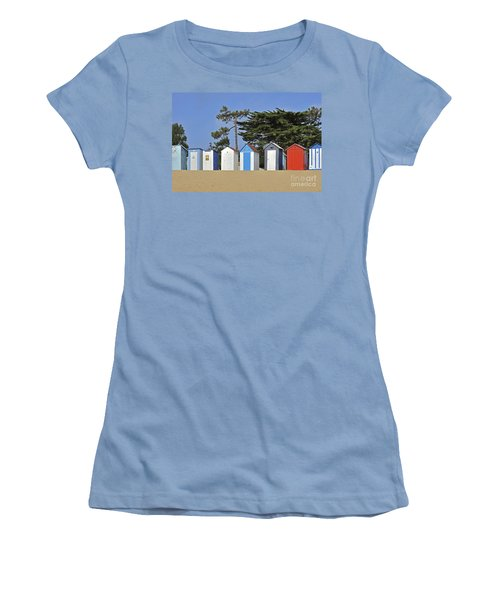 Women's T-Shirt (Junior Cut) featuring the photograph Oleron 6 by Arterra Picture Library