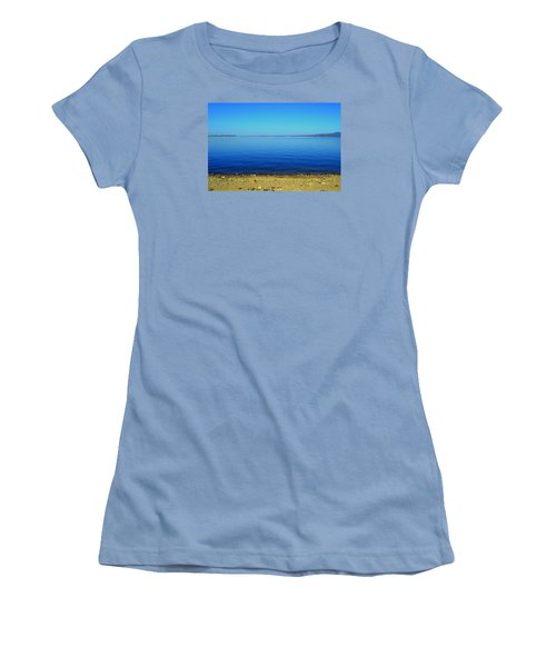 Women's T-Shirt (Junior Cut) featuring the photograph Overflow by Rima Biswas