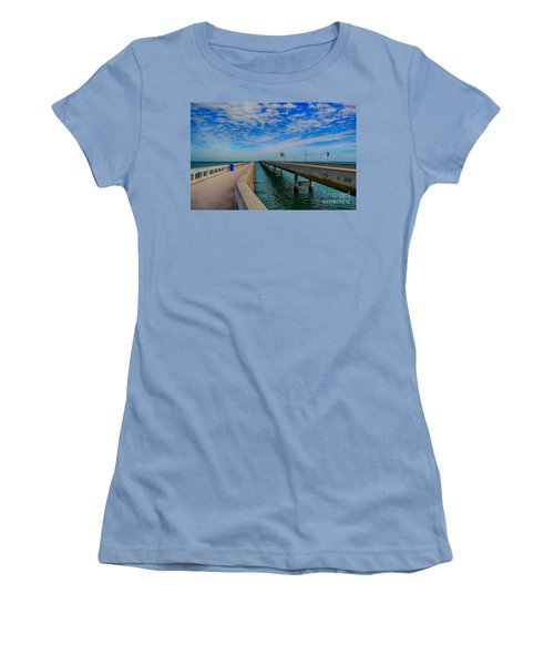 Overseas Highway Florida Keys Women's T-Shirt (Athletic Fit)