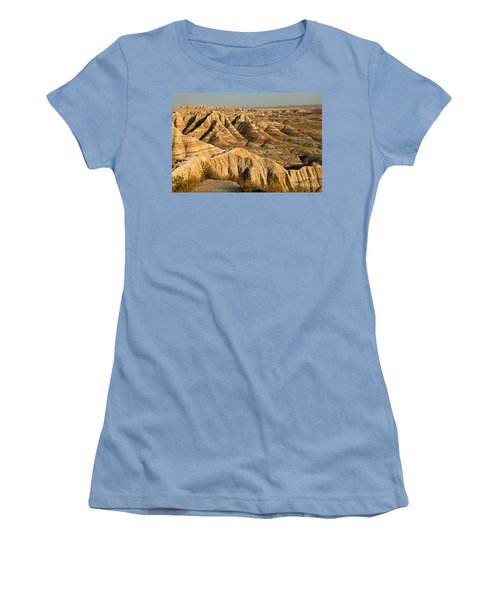 Panorama Point Badlands National Park Women's T-Shirt (Athletic Fit)