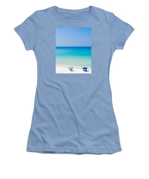 Paradise Women's T-Shirt (Junior Cut) by Shelby  Young