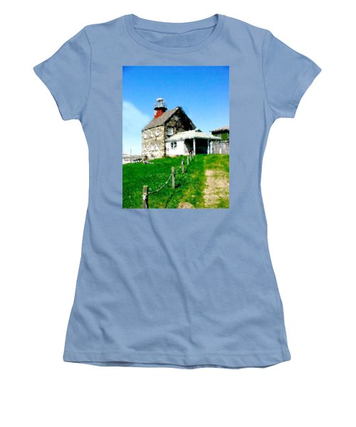Pathway To Happiness  Women's T-Shirt (Junior Cut) by Iconic Images Art Gallery David Pucciarelli