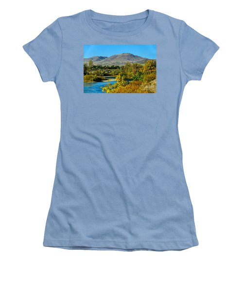 Payette River And Squaw Butte Women's T-Shirt (Athletic Fit)