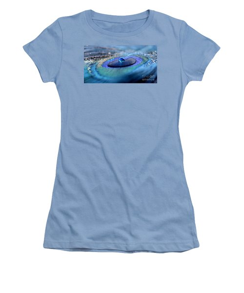 Peacock Potion Women's T-Shirt (Athletic Fit)
