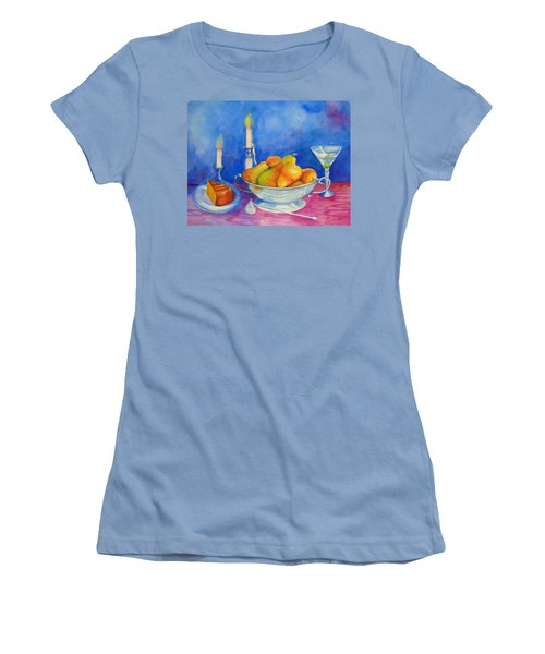 Pearis By Candlelight  Women's T-Shirt (Athletic Fit)