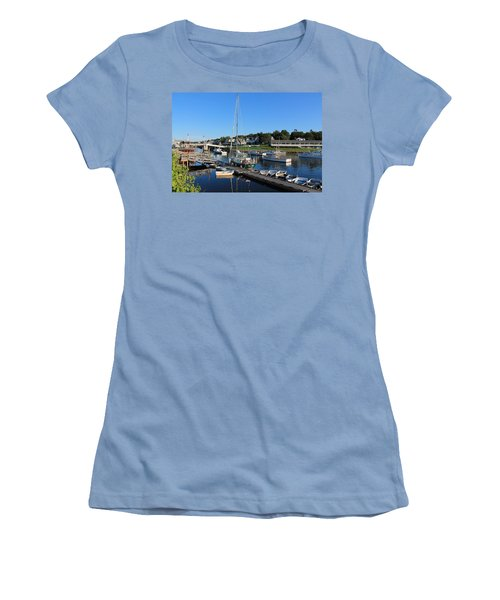 Perkins Cove Ogunquit Maine 2 Women's T-Shirt (Athletic Fit)