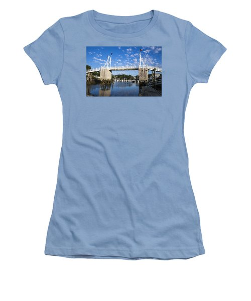 Perkins Cove - Maine Women's T-Shirt (Athletic Fit)