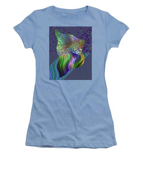 Pillowing Women's T-Shirt (Junior Cut) by Judi Suni Hall