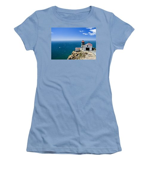 Point Reyes Lighthouse California Women's T-Shirt (Athletic Fit)
