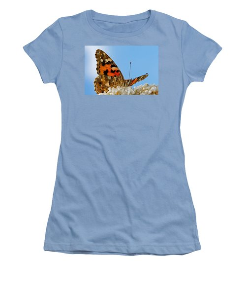 Portrait Of A Butterfly Women's T-Shirt (Junior Cut)