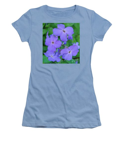 Purple Passion Women's T-Shirt (Junior Cut) by Sara  Raber