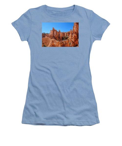Queens Garden Window Women's T-Shirt (Athletic Fit)