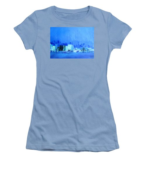 Quiet City Night Women's T-Shirt (Athletic Fit)