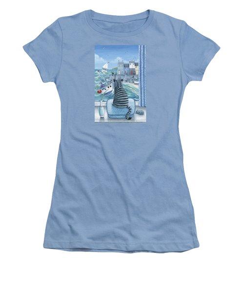 Rather Mew Women's T-Shirt (Junior Cut) by Peter Adderley