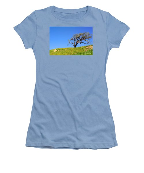 Women's T-Shirt (Athletic Fit) featuring the photograph Reach by Clayton Bruster