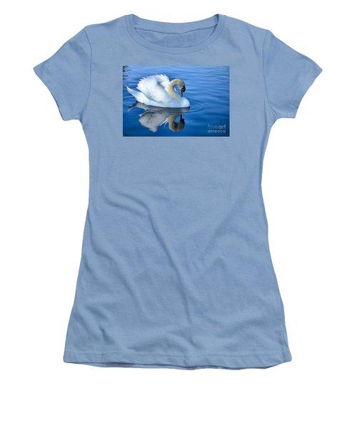 Reflecting Women's T-Shirt (Junior Cut) by Deb Halloran