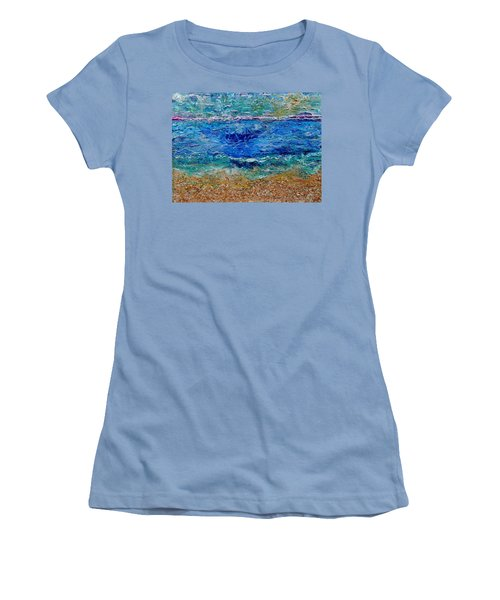 Rhapsody On The Sea  Women's T-Shirt (Athletic Fit)