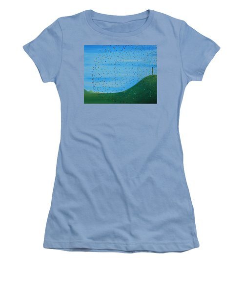 Ripples Of Life 2 Women's T-Shirt (Junior Cut) by Tim Mullaney