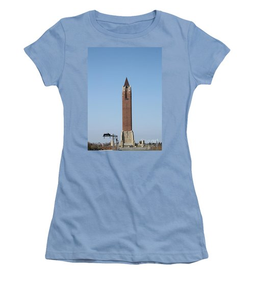 Robert Moses Tower At Jones Beach Women's T-Shirt (Athletic Fit)