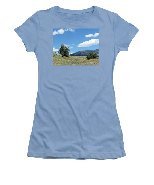 Women's T-Shirt (Junior Cut) featuring the photograph Rolling Hills by Laurel Powell