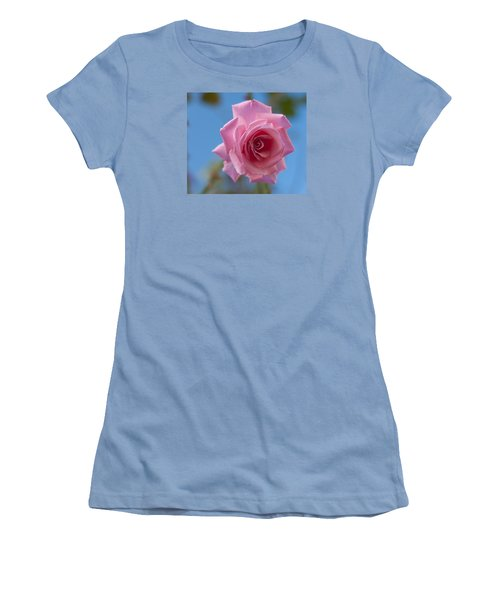 Roses In The Sky Women's T-Shirt (Junior Cut) by Miguel Winterpacht