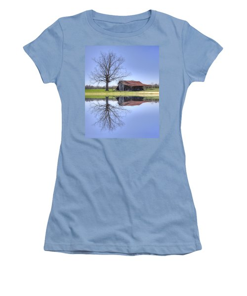 Rustic Barn Women's T-Shirt (Athletic Fit)