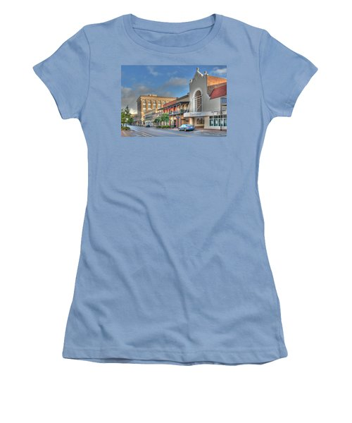 Saenger Theater Women's T-Shirt (Athletic Fit)