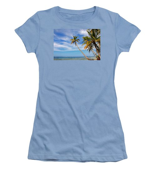 San Blas Dreaming Women's T-Shirt (Athletic Fit)