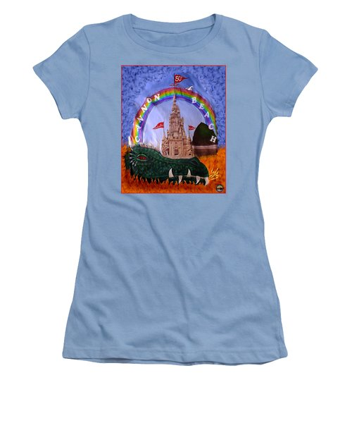 Sandcastle Shirt Women's T-Shirt (Junior Cut) by Wendy McKennon