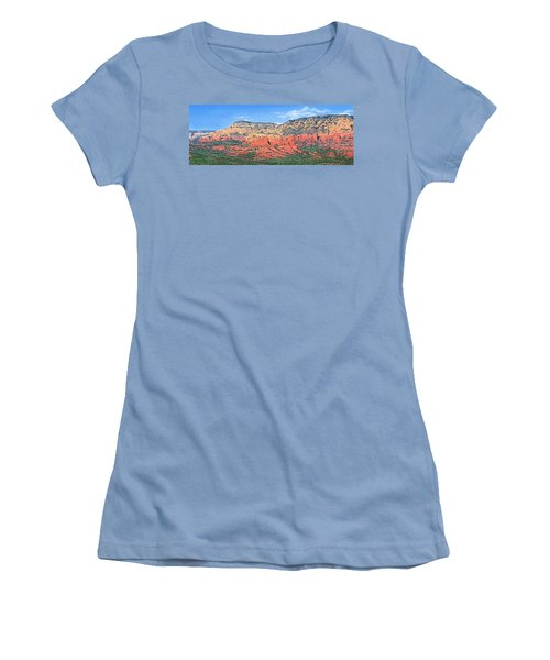 Sedona Landscape Women's T-Shirt (Athletic Fit)