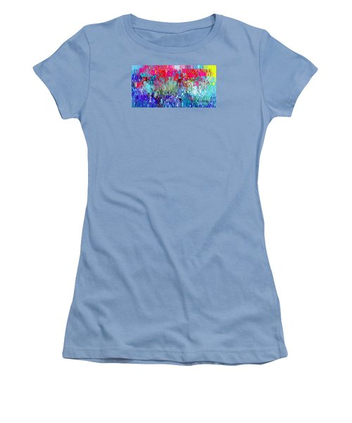 Shattered Women's T-Shirt (Junior Cut) by The Art of Alice Terrill