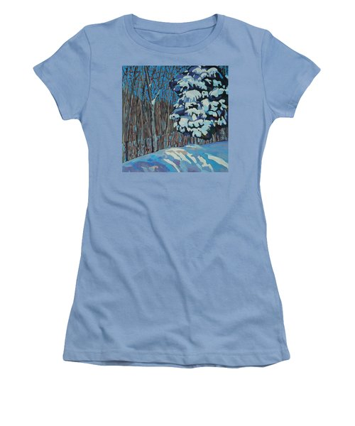 Significant Cedar Women's T-Shirt (Junior Cut) by Phil Chadwick