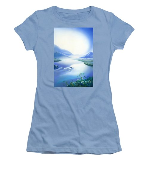Silence Women's T-Shirt (Junior Cut) by Anna Ewa Miarczynska